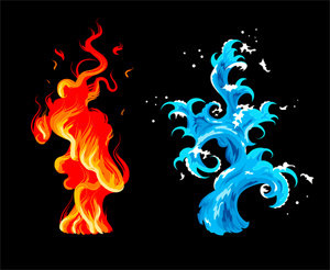 water_flame